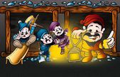 Dwarfs — Stockfoto