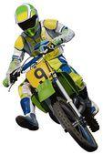 Prób motocyklowych — Wektor stockowy