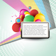 Vector colorful background — Imagens vectoriais em stock