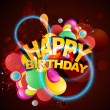 Birthday background — Vector de stock