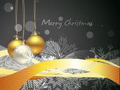 рождественские шары — Cтоковый вектор
