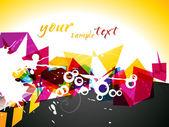 Abstract colorful vector — Vector de stock