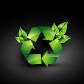 Recycle icon — Stock Vector