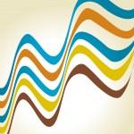Vector wave lines — Stock Vector #12710628