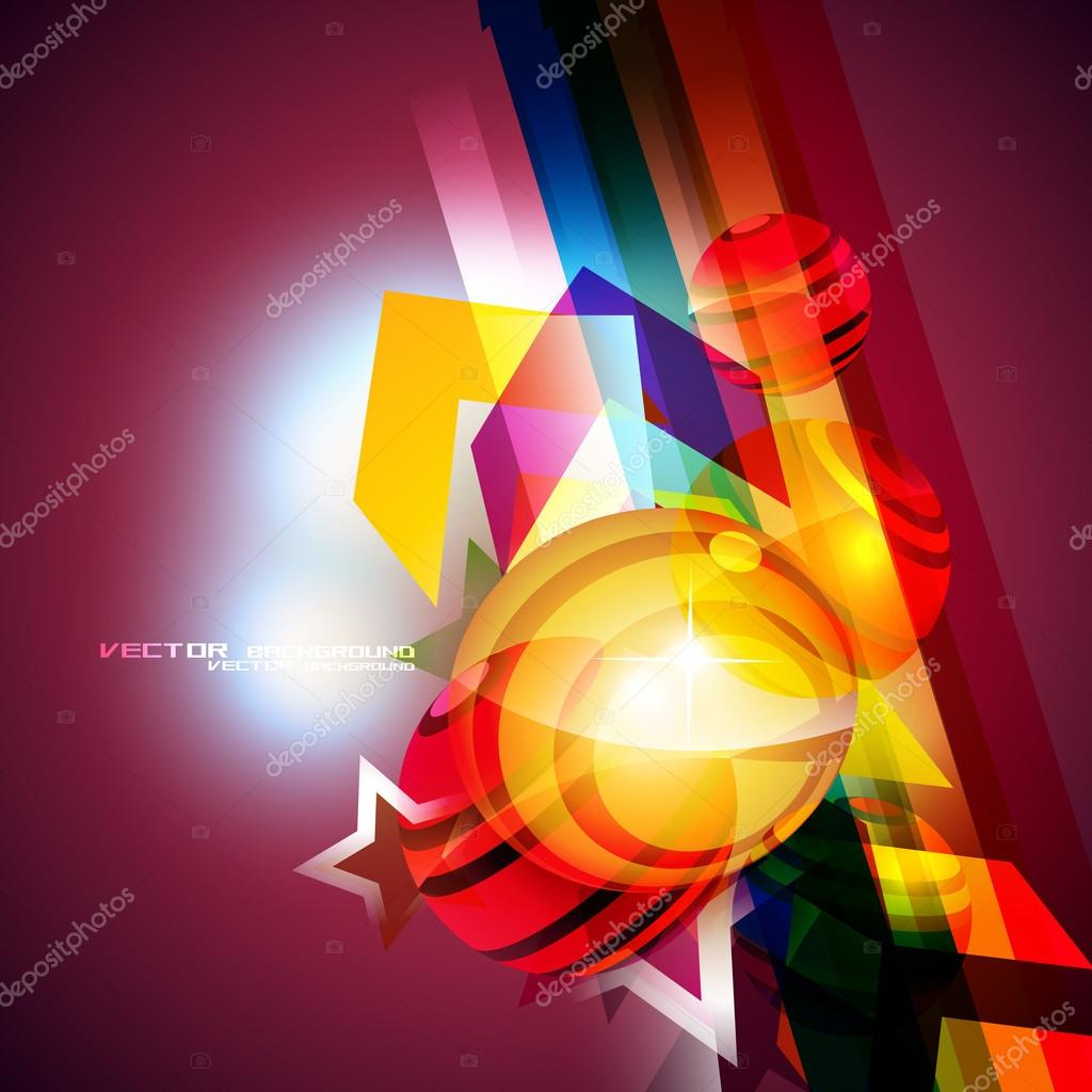 Beautiful colorful eps10 background vector — Stock Vector #12710030