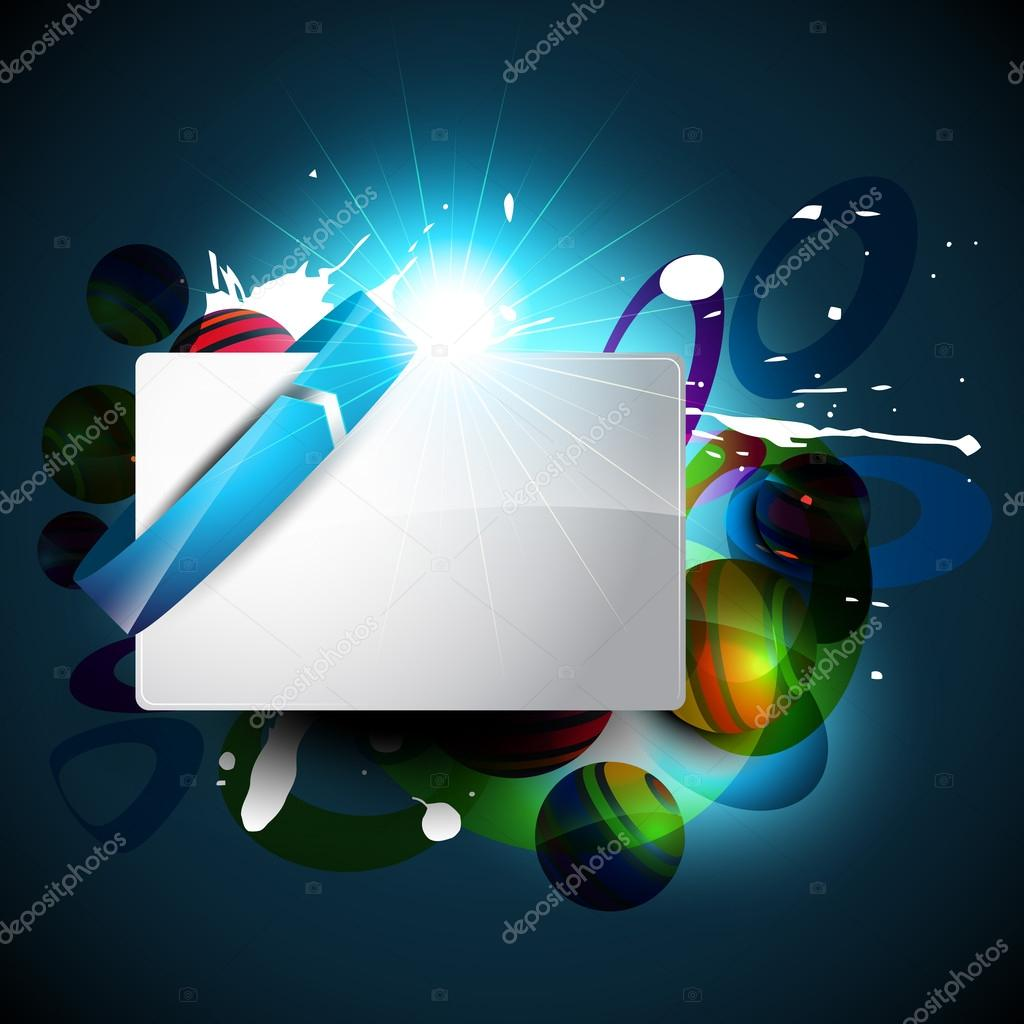 Abstract background with space for your text — Stock Vector #12710071