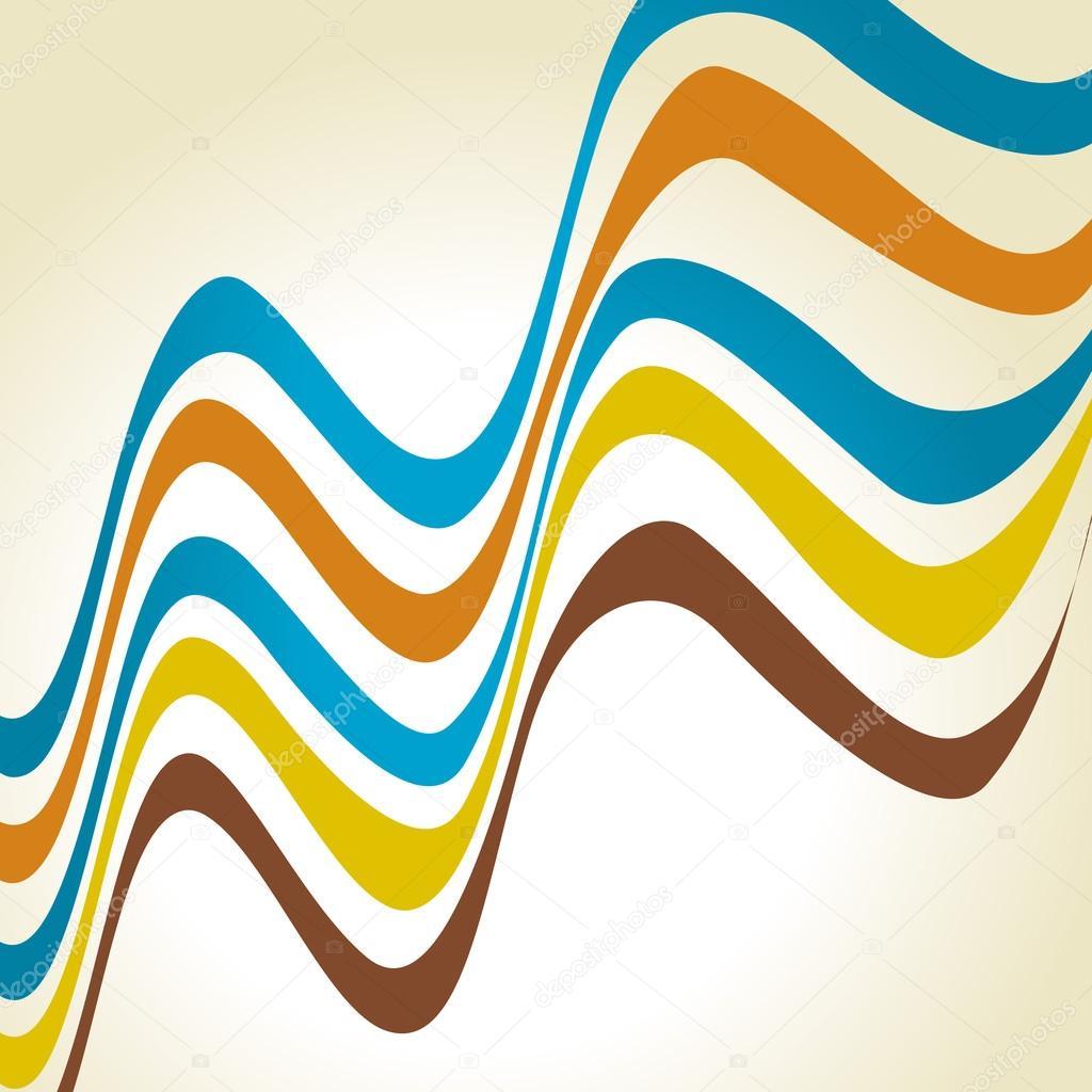 矢量波浪线 — 图库矢量图像08