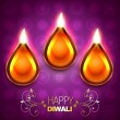 Diwali background — Stock Vector