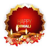 Fondo feliz diwali — Vector de stock
