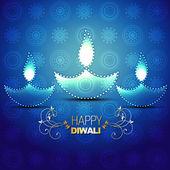 Happy diwali background — Stock Vector