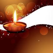 Diwali festival — Stock Vector