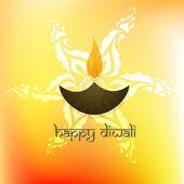 Happy diwali — Stock Vector