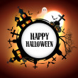 Halloween card design — Stock Vector #13699586
