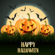 Vector halloween design — Stock Vector #13699783
