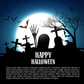 Happy halloween design — Stock Vector