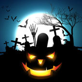 Halloween vector design — Stock Vector