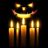 страшно хеллоуин дизайн — Cтоковый вектор