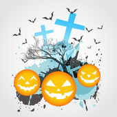 Abstract halloween art — Stock Vector