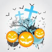 Abstract halloween art — Stock Vector