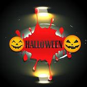 Bloddy halloween design — Stock Vector