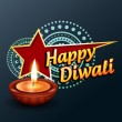 Happy diwali greeting — Stock Vector #14172752