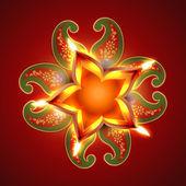 Happy diwali illustration — Stock Vector