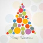 Creative merry christmas design — Stock Vector #16960663