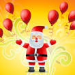 Royalty-Free Stock Vector Image: Happy santa claus