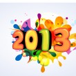 Royalty-Free Stock Vector Image: Colorful happy new year design