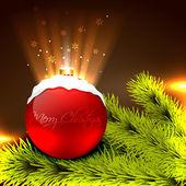 Christmas vector background — Stock Vector