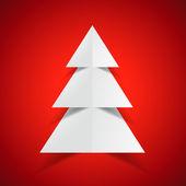Creative merry christmas design — Stock Vector