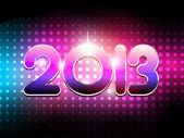 Shiny happy new year — Stock Vector