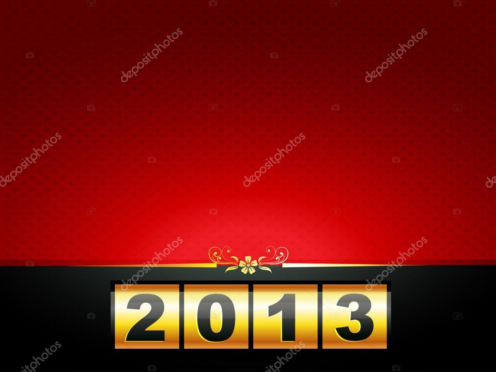 Vector happy new year design with space for your text — Stock Vector #16962221