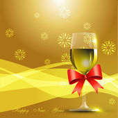 Wine glass — Stock Vector