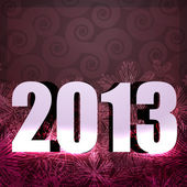 2013 new year design — Stock Vector