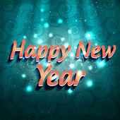 Happy new year vector — Stock Vector