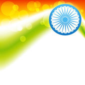 Indian flag vector — Vector de stock