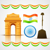 наследие индии — Cтоковый вектор