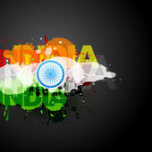 Flag of india — Vetorial Stock