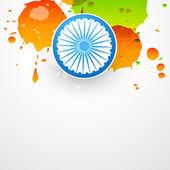 Vector bandeira indiana — Vetorial Stock