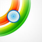 Bandeira da índia — Vetorial Stock