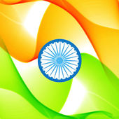 Indian flag — Stock Vector