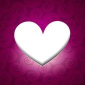 валентина день сердце — Cтоковый вектор