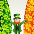 Leprechaun character - Stock Vector