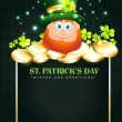 Royalty-Free Stock Vector Image: Happy leprechaun