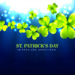 Stylish saint patrick's day — Imagen vectorial