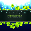 Beautiful st patrick's day design — Stock Vector