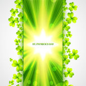 St patrick's day design — Vettoriale Stock