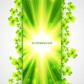 St patrick's day design — Vetor de Stock