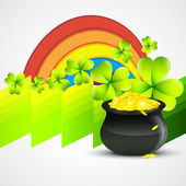 Saint Patricks day design — Stockvektor